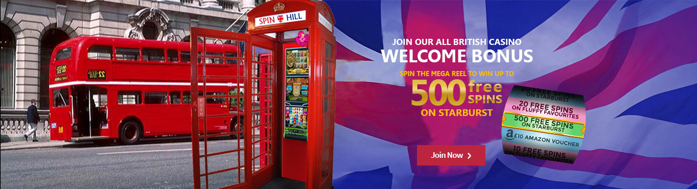 Spin Hill Casino | Win Free Spins!